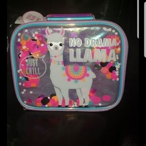 New with tags justice llama lunch box